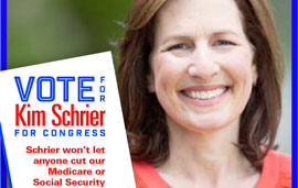 "Digital/Social IE for Dr. Kim Schrier for Congress (WA08) ""Depends on it"""